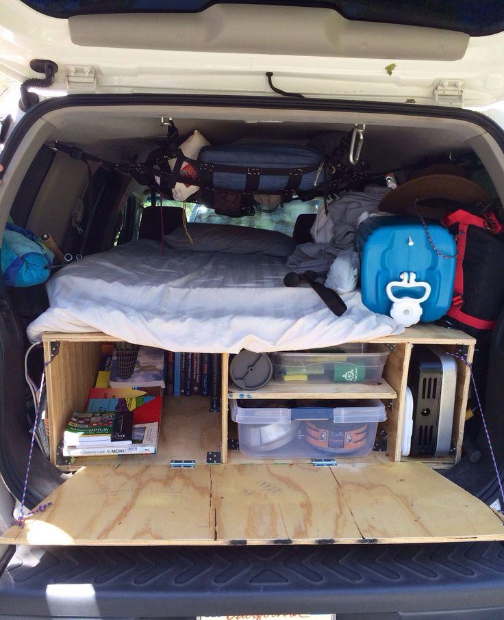 subaru forester camping conversion - Google Search