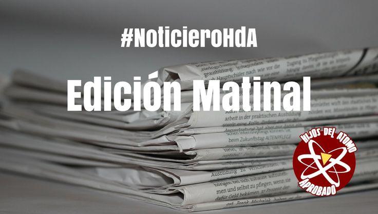 20 noticias en la Edición Matinal del #NoticieroHdA del 18/11/2017