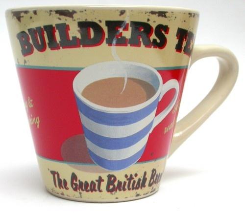 Martin Wiscombe Builders Tea Mug