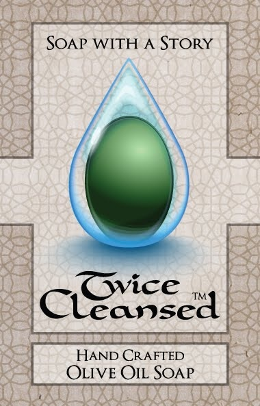 Twice Cleansed is a 100% organic Twice Cleansed - Lebanese olive oil soap created to help in the sex trafficking relief efforts in Lebanon.