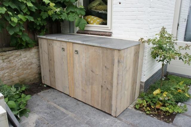 Tuikast of Opbergbox waterdicht (weersinvloeden bestendig) voor opbergen loungeset kussens.    Afmeting: Hoogte +/- 110 cm, Breedte +/- 160 cm, Diepte +/- 70 cm    Bijgevoegd een voorbeeld