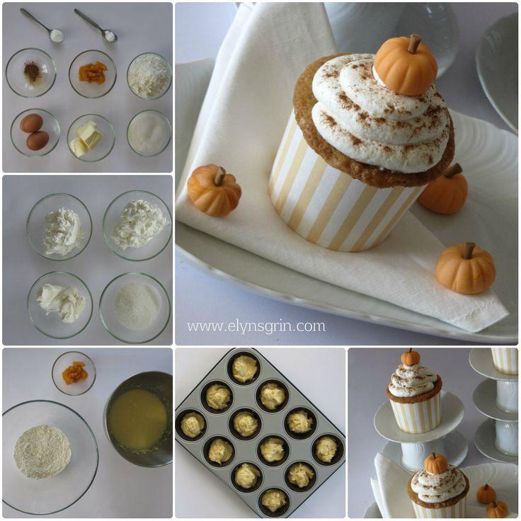 #muffin alla #zucca per #halloween ...un vera delizia! la #ricetta --> http://www.elynsgrin.com/muffin-di-halloween-con-zucca-speziata/