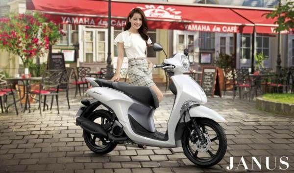 Motor baru Yamaha Janus punya fitur SSS