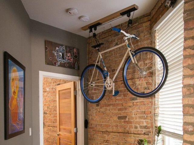 Pour Ou Contre Le Vélo Dans Votre Déco ?   Elle Décoration. Bike StyleSmall  ApartmentsSmall ...