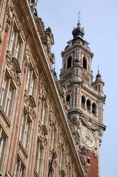 Beffroi de l'hôtel de ville de Lille © OT Lille / Maxime Dufour