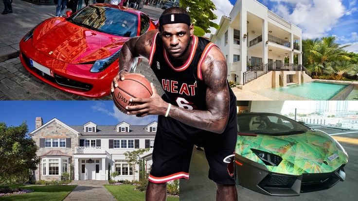LeBron James Net Worth ★ Biography ★House ★ Cars ★ Income ★ Wife ★ Kids ...