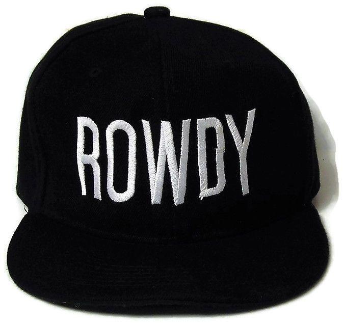 Rowdy Ronda Rousey MMA UFC Black Ball Cap Hat Strapback OSFA   Sports Mem, Cards & Fan Shop, Fan Apparel & Souvenirs, Mixed Martial Arts (MMA)   eBay!