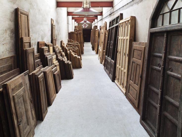 Oude eiken deuren en luiken |De Groene Poort