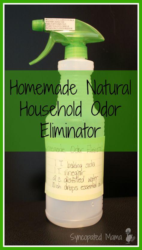 Homemade Natural Household Odor Eliminator (aka DIY Febreeze)