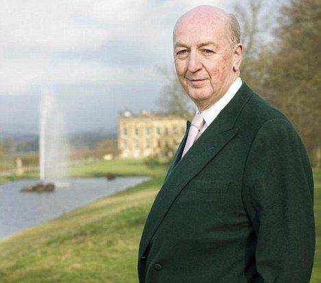 The 12th Duke of Devonshire, Peregrine Cavendish (son of Deborah Mitford). Born 27/04/1944.