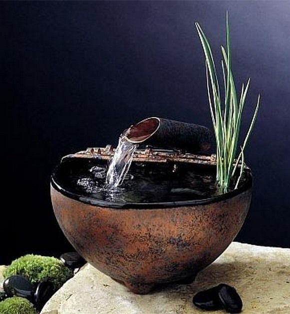 Beautiful Feng Shui Water Fountains - amazing for wealth. Keep that water clean!