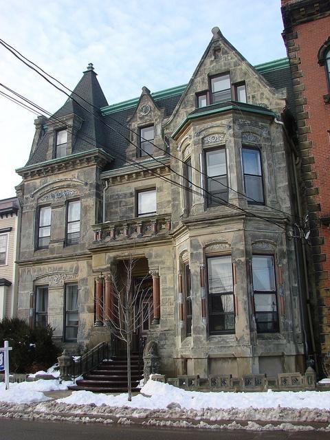 I grew up in this Beautiful,historic home on Orange Street in Saint John, N.B.