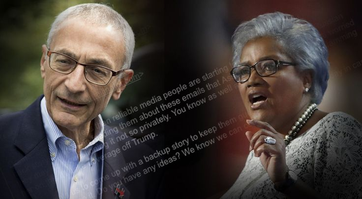 "Those poor ""targeted"" democrats simply cannot get a break from the evil Russians or WikiLeaks!  At 7:51 p.m. on Wednesday night, Democratic National Committee chair Donna Brazile got an odd email from the Gmail account of Clinton campaign chair John Podesta.  ""Donna, some of our less than reliable media people are starting to privately question the Russian hack story we've been feeding them about"