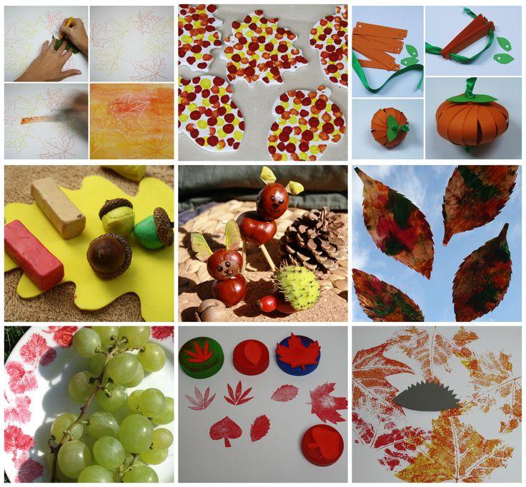 13 tipů na podzimní tvoření v přehledném článku :-) http://bit.ly/PodzimníTvoření