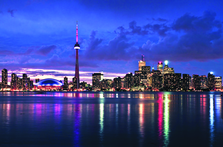 Toronto's cosmopolitan city is the cultural heartland of Canada and is filled with many museums and galleries.