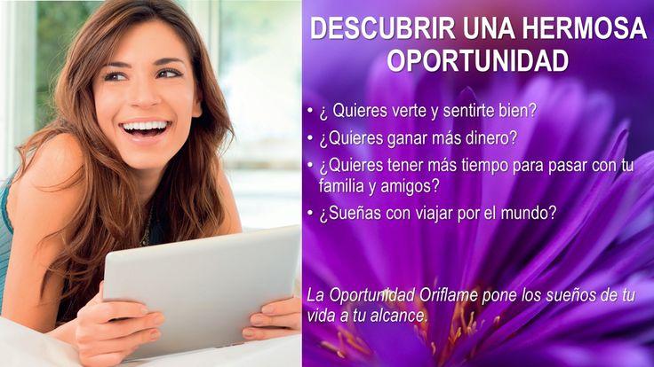 Descubre una hermosa oportunidad de crecer a nivel personal, profesional y económicamente.