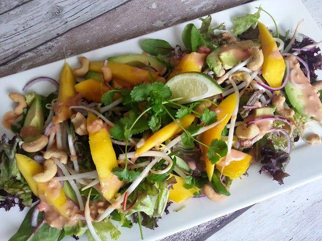 Koken met Rianne: Thaise salade met mango en avocado