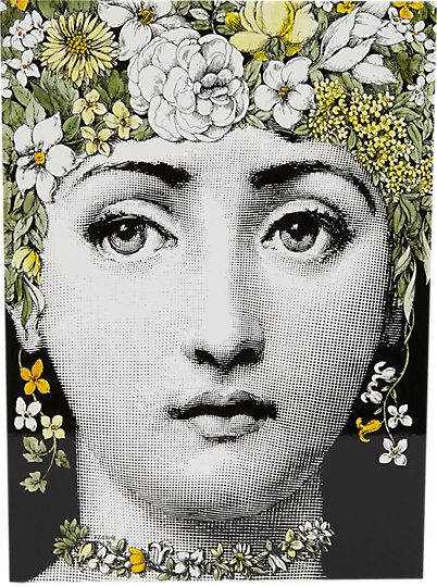 Fornasetti Flora Lacquered Wood Keepsake Box at Barneys.com