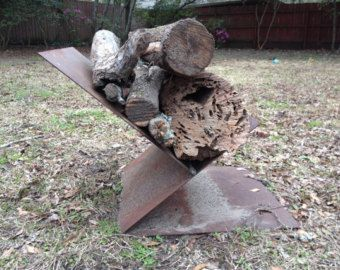 Steel Firewood Holder