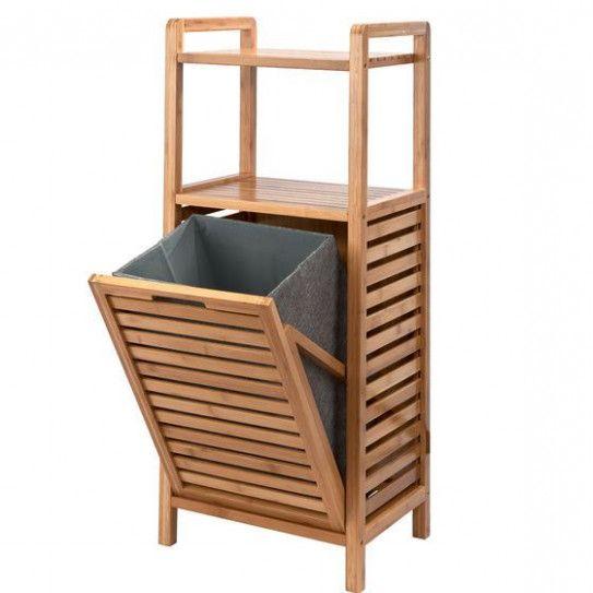 Ist Badezimmer Regal Mit Waschekorb Jetzt Das Trendthema Bambus