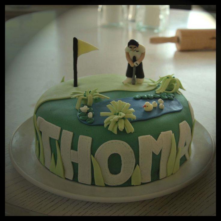 Golf cake to a friends 30th birthday