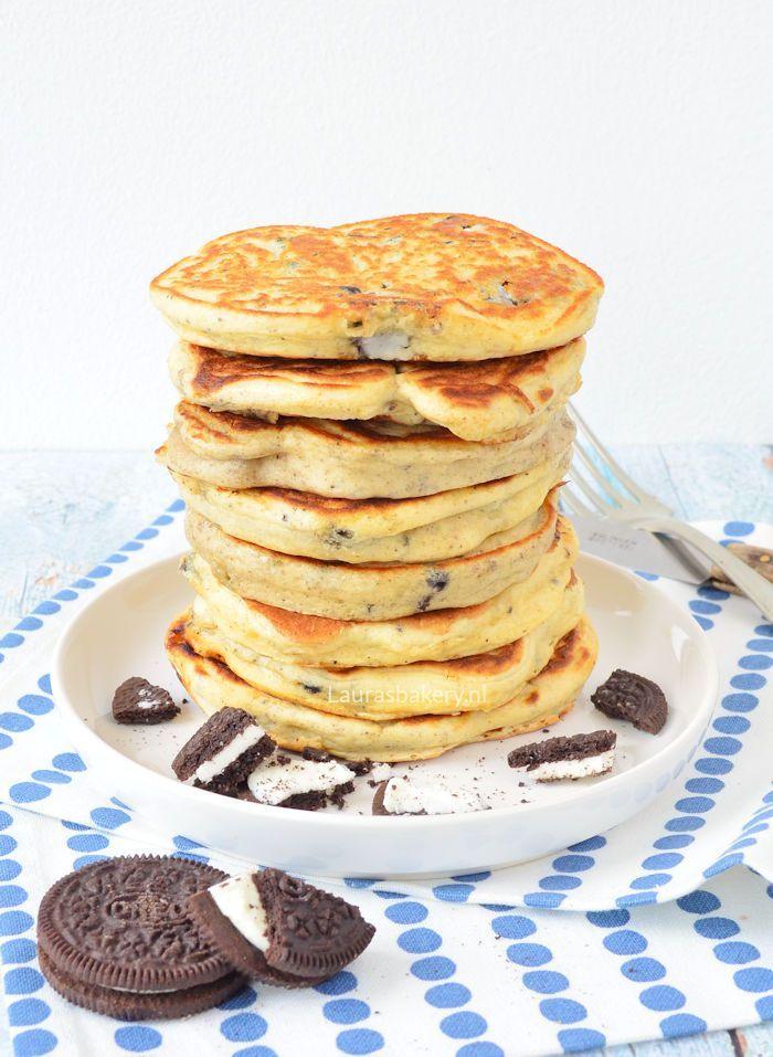 oreo pancakes - Laura's Bakery