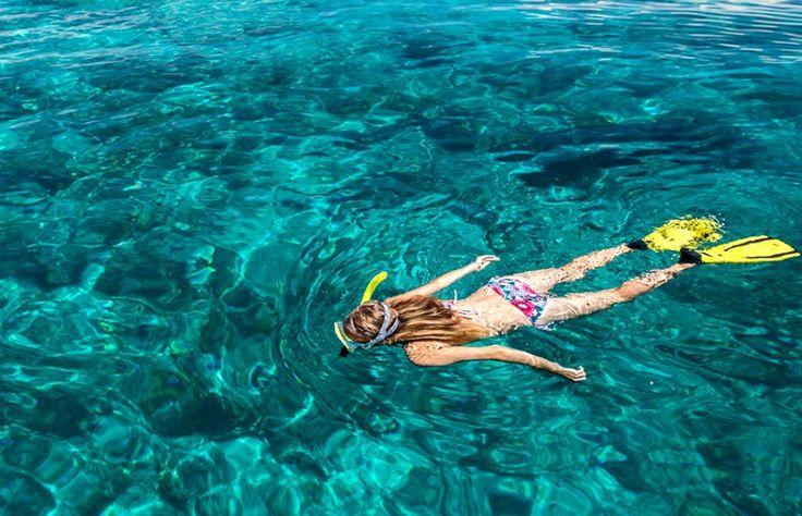 Snorkeling pantai gili nanggu lombok