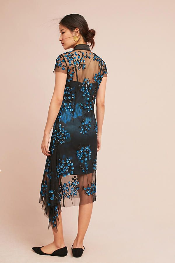 Slide View: 3: Tracy Reese Lace Overlay Dress
