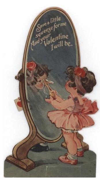 574 best Valentines images on Pinterest  Vintage valentine cards