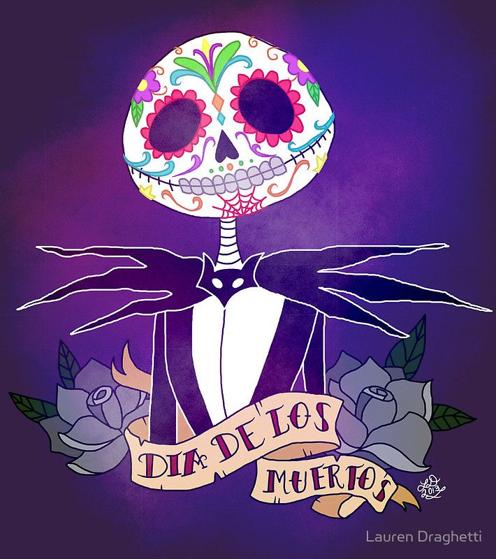 117 best day of the dead ideas images on pinterest day of dead dia de los muertos nightmare before christmas by lauren draghetti m4hsunfo