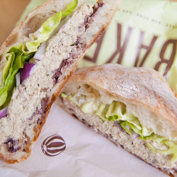 Tuna Nicoise sandwich - Bouchon Bakery | Sandwiches, Wraps & Gyros ...
