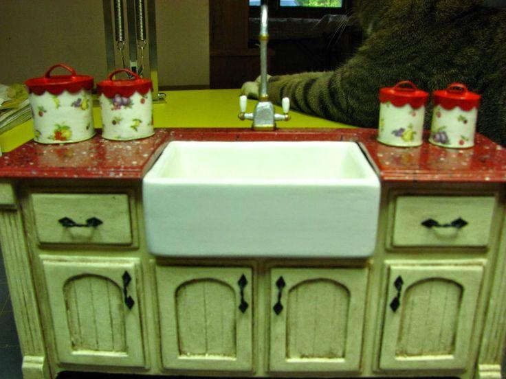 miniature furniture tutorials. dollhouse miniature furniture tutorials 1 inch minis scale vintage canister set t