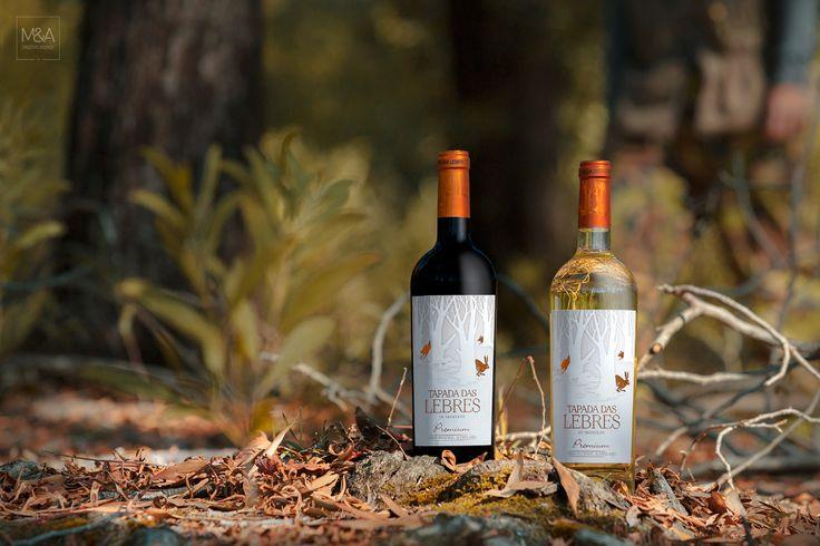 Tapadas Das Lebres Wine Packaging Design On Behance Wine Packaging Design Wine Design Wine Photography