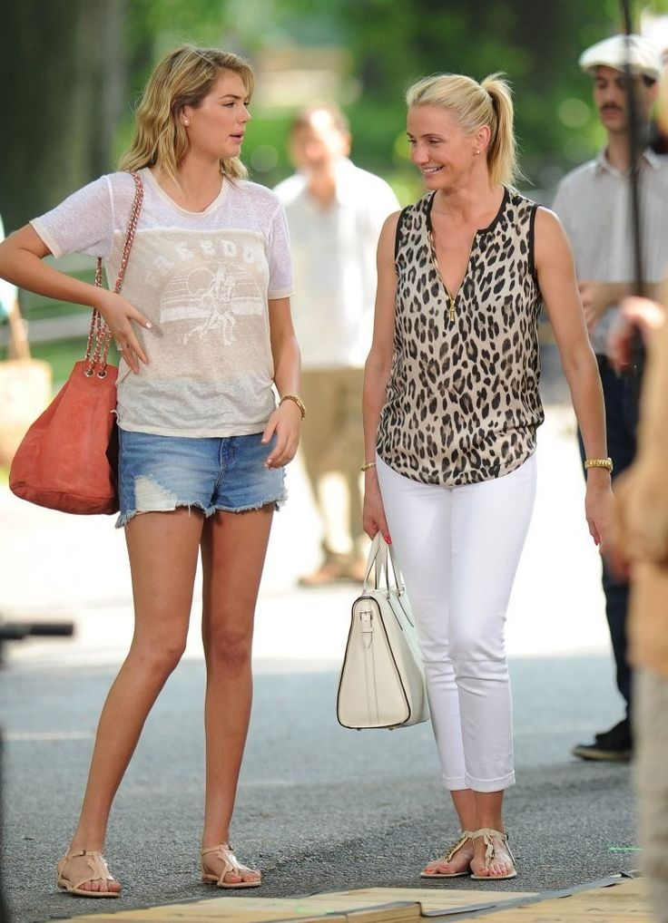 Cameron Diaz Photos Photos The Other Woman Films In Nyc