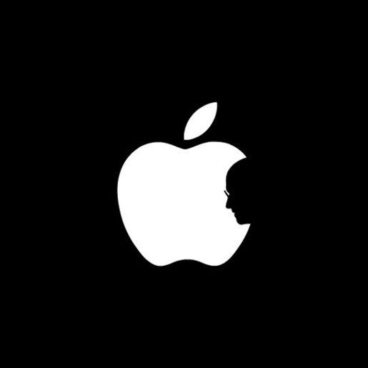 Steve Jobs Silhouette in Apple | The Inspiration Room