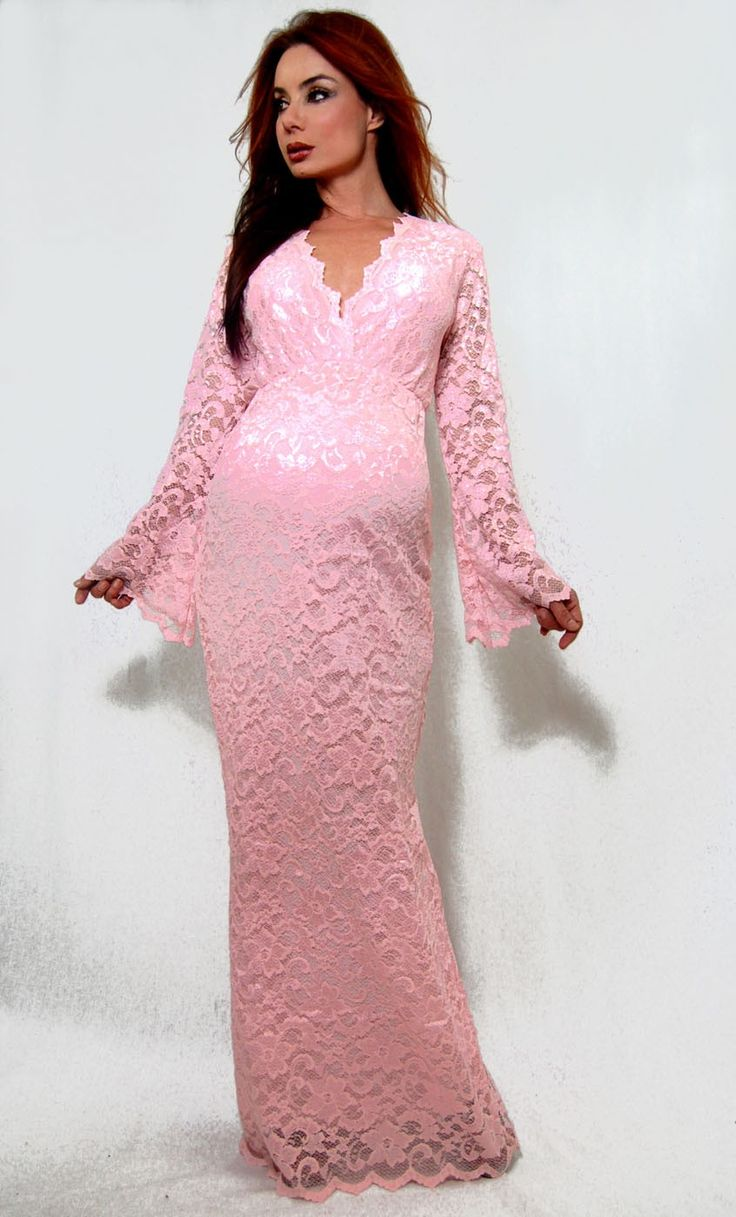 14 best maternity bridesmaid matron of honor dresses images on nicole maternity womens long pink lace v neck formal dress gown ombrellifo Gallery