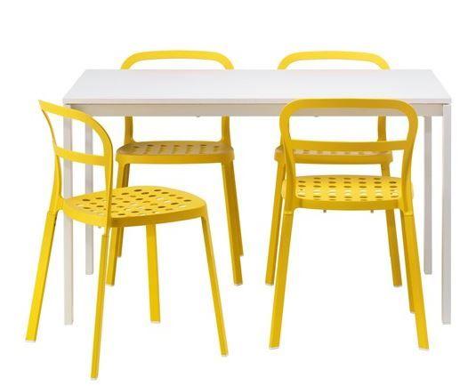 ikea mutfak masa ve sandalye modeli 2015