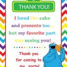 Sesame Street invites Cookie Monster birthday by ParisGraphics