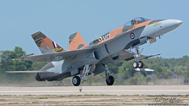 Royal Canadian Air Force CF-18 Demo