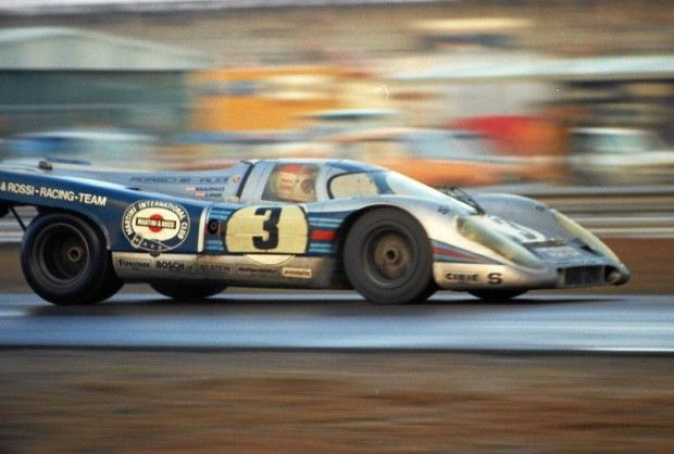 Porsche 917K of Helmut Marko and Rudi Lins.  The car was a DNF due to an accident.