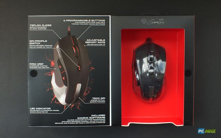 Interior pachet Genesis GX75 Limited Edition Gaming Mouse