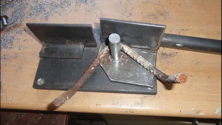 Diy Universal Iron Rod Metal Bender Metall Biegen