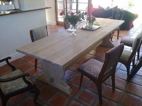 Solid Oak Kommetjie Style Table