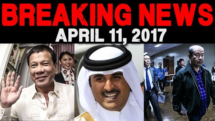 BREAKING NEWS TODAY APRIL 11 2017 PRESIDENT DUTERTE STATE VISIT IN MIDDL...