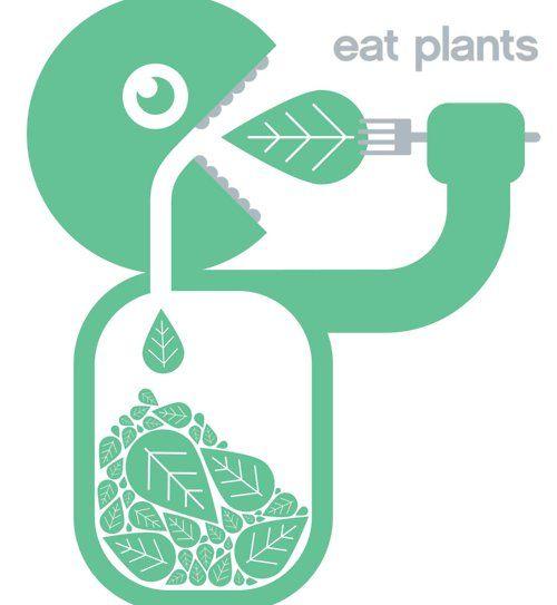eat plants