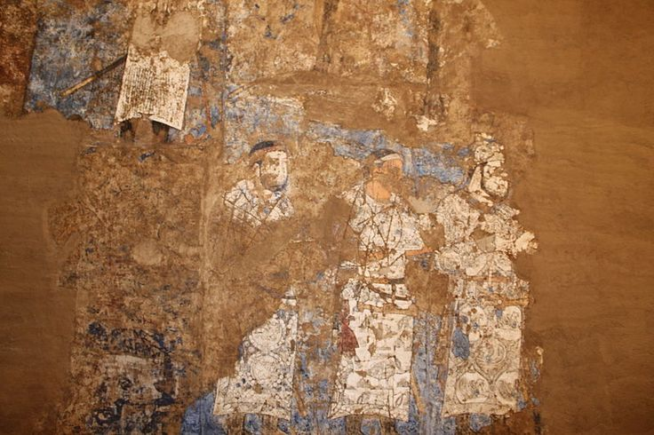 Afrasiab - details from The Ambassadors' Painting