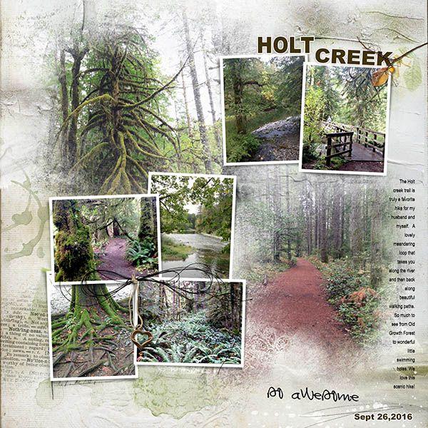 Holt Creek Trail - Oscraps Gallery