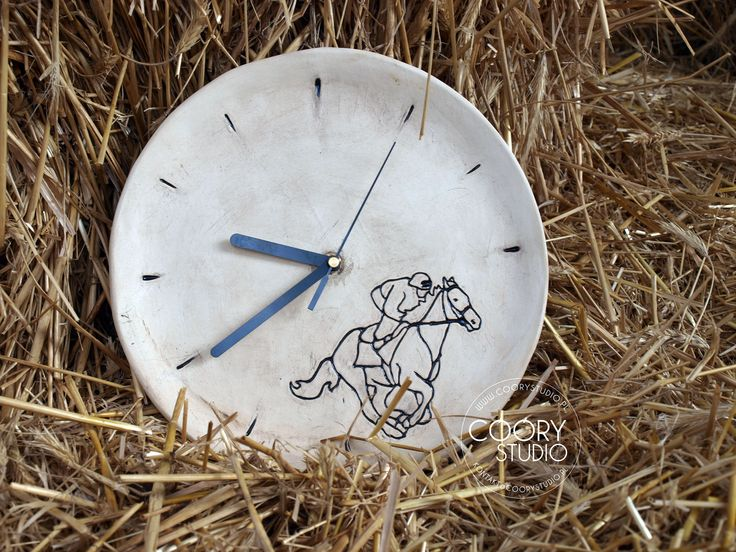 Cóóry Studio - ceramic clock
