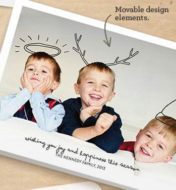 Kerstkaart idee (van minted.com)