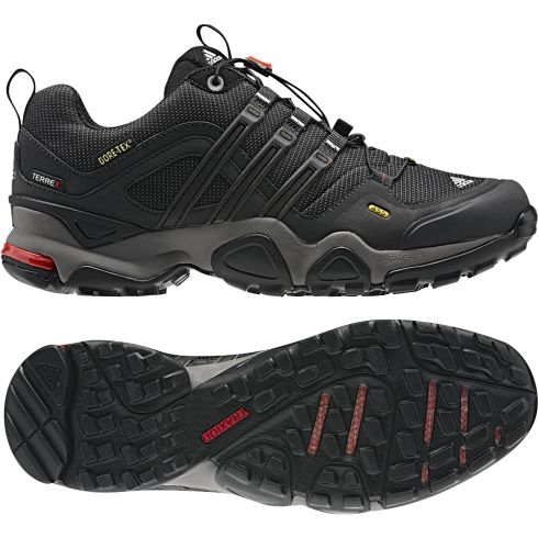 ADIDAS TERREX FAST X GTX, CINDER/BLACK/CORE - Footwear & Boots - Tactical Distributors- Tactical Gear